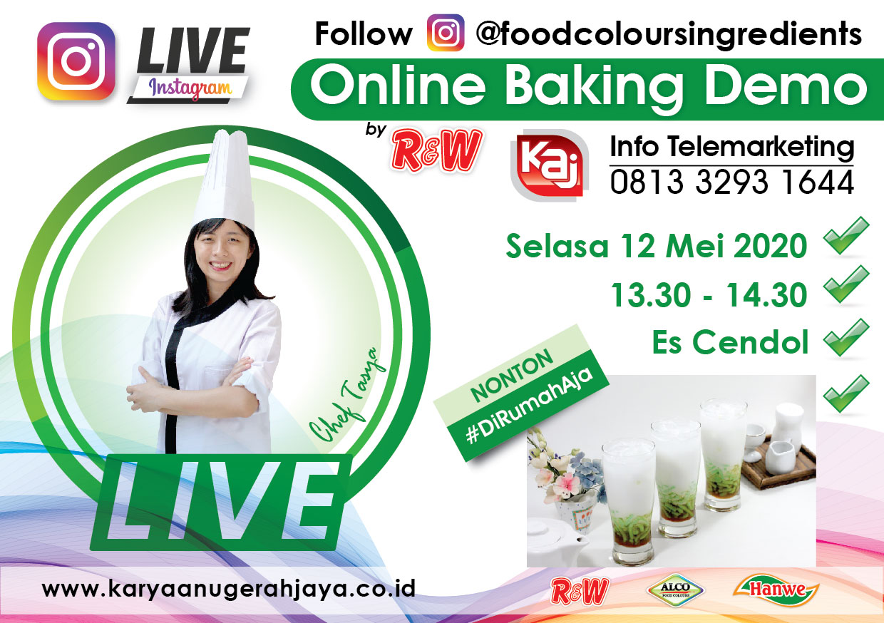 Event LIVE Baking Demo Es Cendol Photo