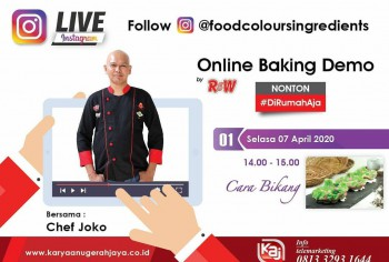 Event LIVE Baking Demo Cara Bikang Photo