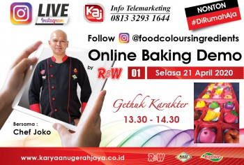 Event LIVE Baking Demo Gethuk Karakter Photo