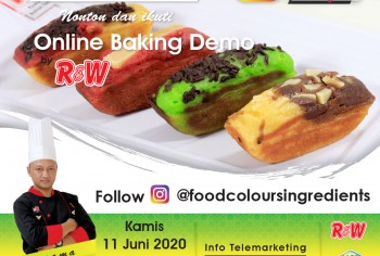 Event LIVE Baking Demo Pukis Photo