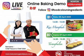 Event LIVE Baking Demo Kue Mangkuk & Terang bulan Photo