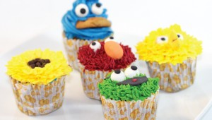 Cup Cakes For Kids (Sesame Street) Photo
